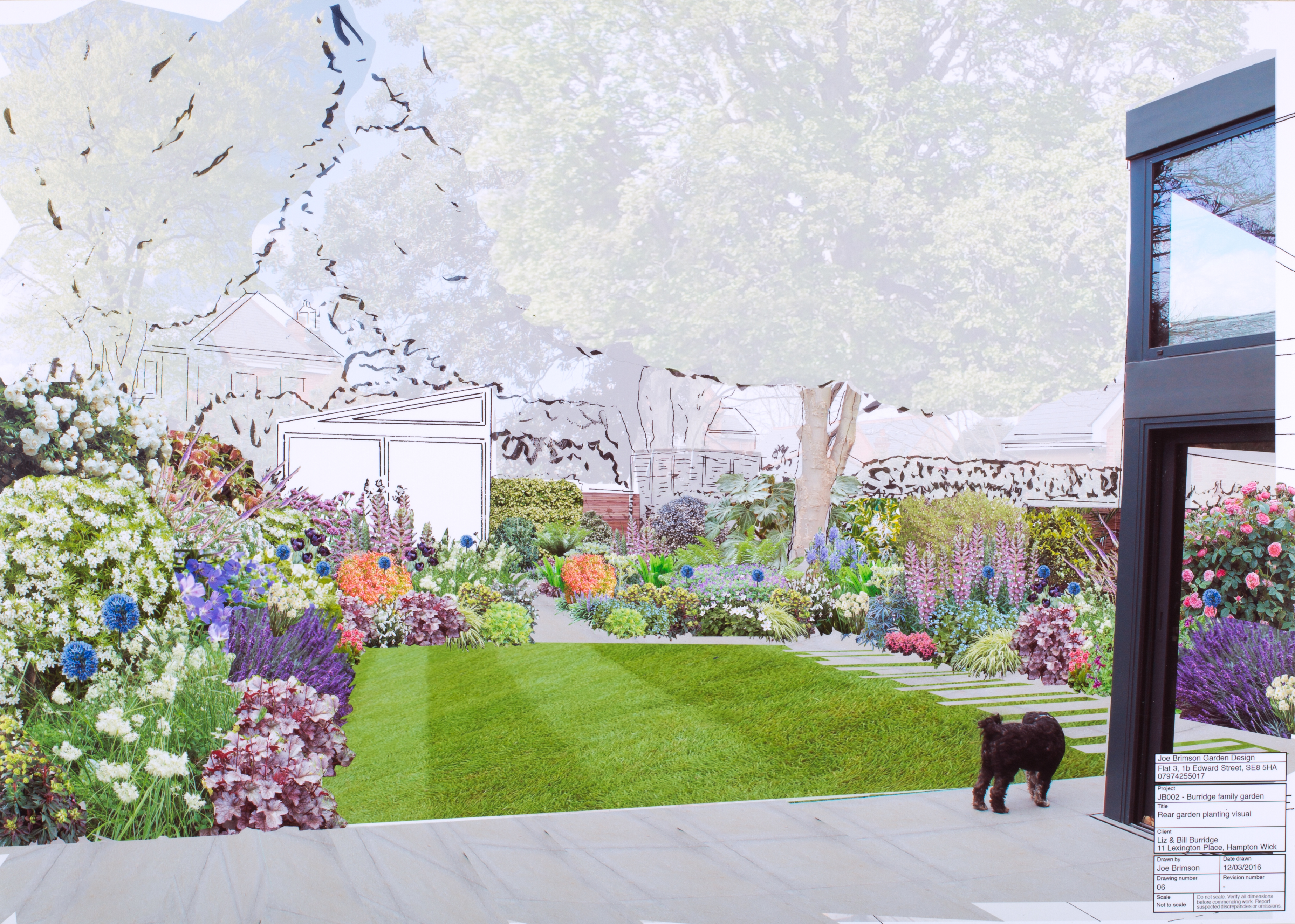 Joe Brimson Residential Garden Concept Visual