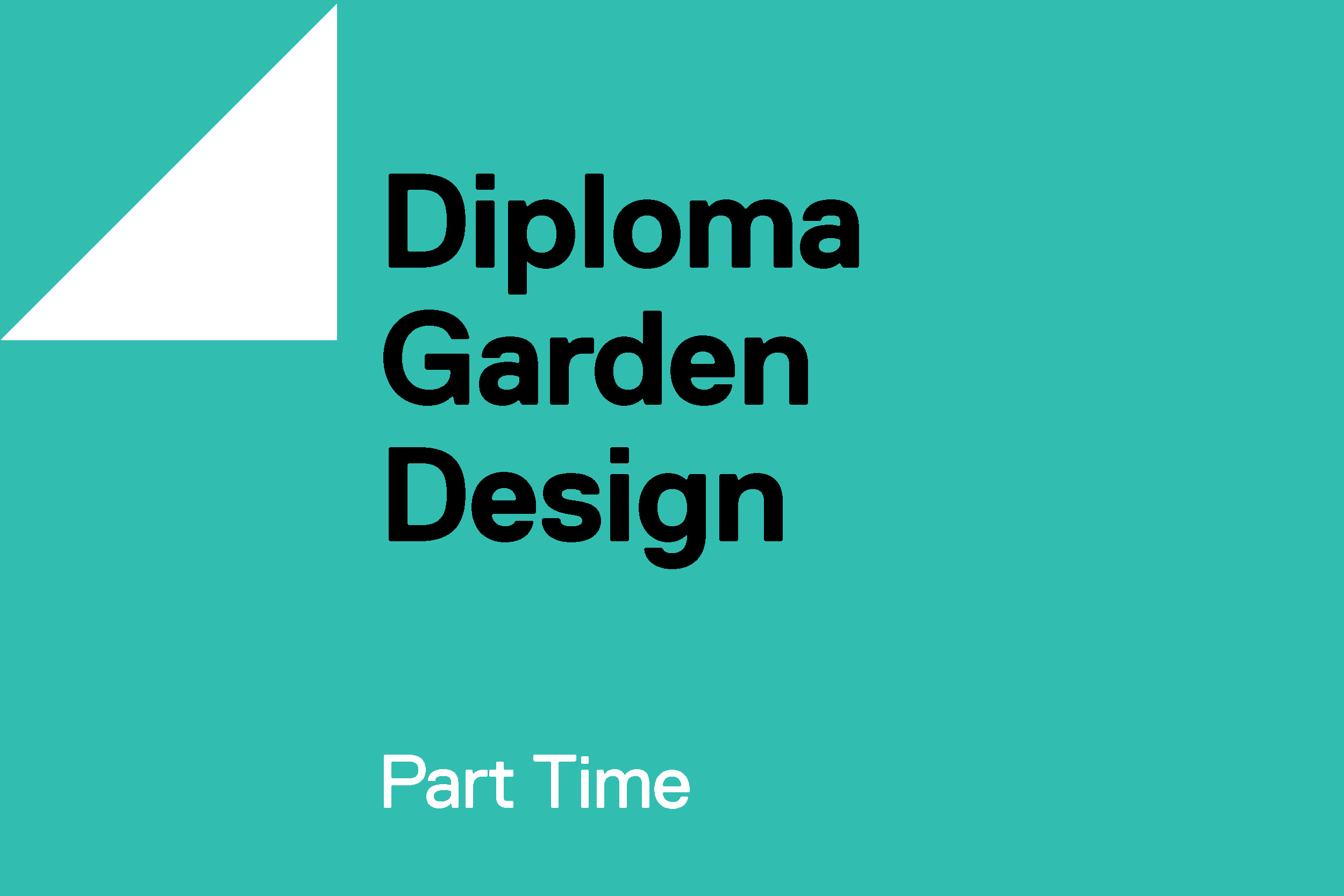 Diploma Part Time Garden Design