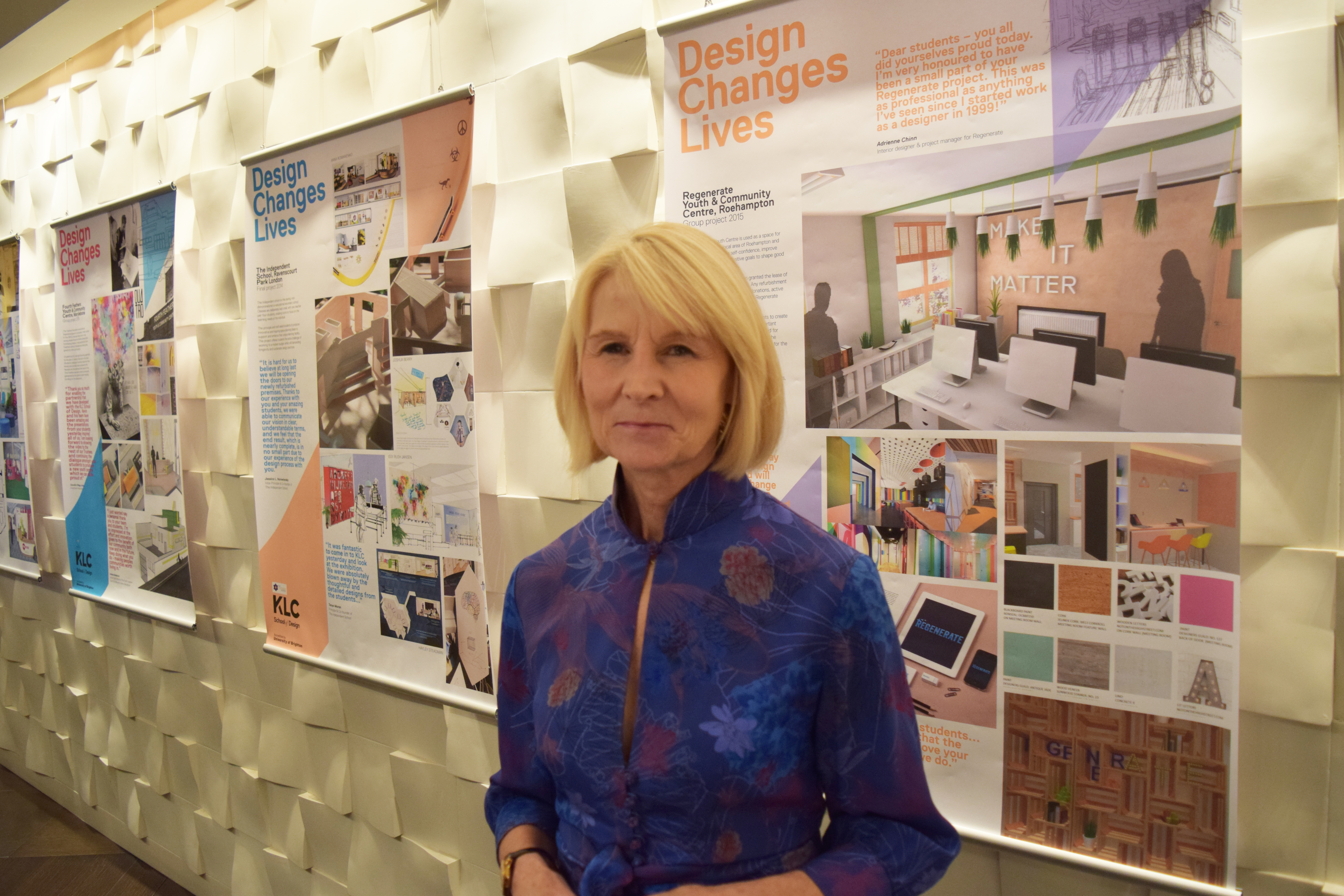 A photo of Jenny Gibbs - Design Changes Lives Foundation