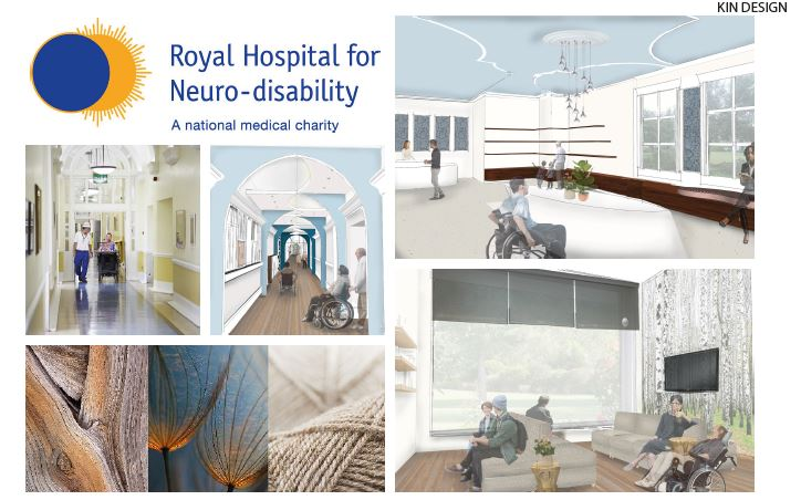 Royal Hospital of Neuro-Disability project by KLC's KIN Designs at AfH Awards 2019
