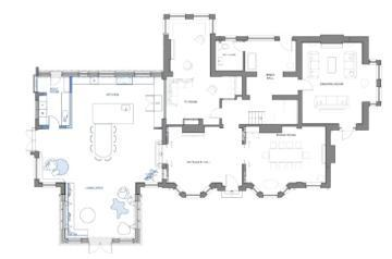 Amy Keast garden floor plan