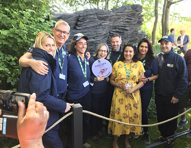 The Chelsea Flower Show 2019 Best in Show team