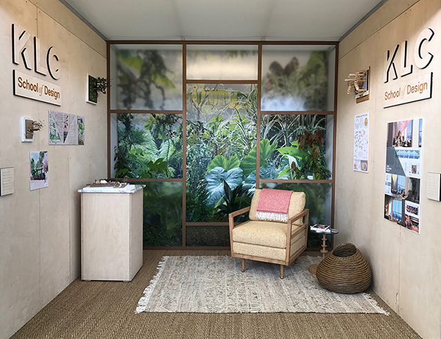 KLC's stand at the RHS Chelsea Flower Show 2019