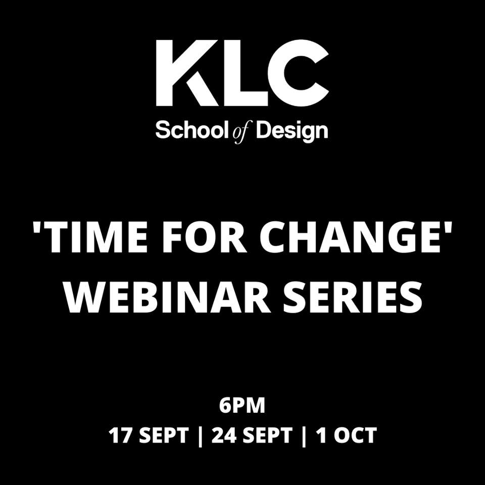 KLC Connect's 'Time for Change' FREE Webinars